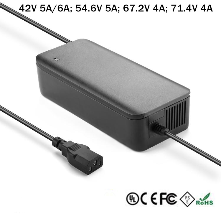 36V-48V-60V-High-Efficient-Lithium-Battery-Charger-For-Lime-Bird-Scooter